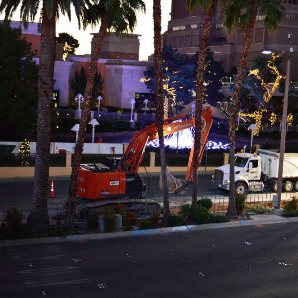 Construction Las Vegas Boulevard