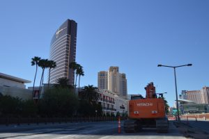 Construction Continues on Las Vegas Boulevard